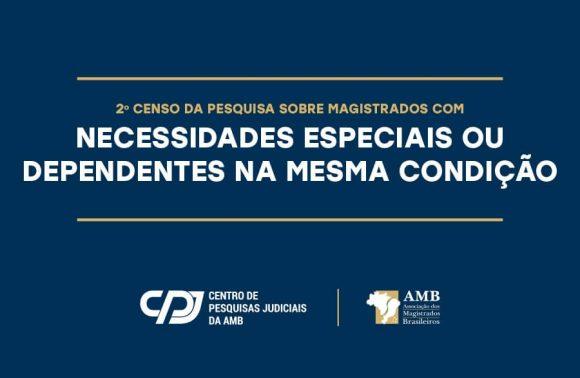 2º Censo busca identificar magistrados e familiares em condições especiais